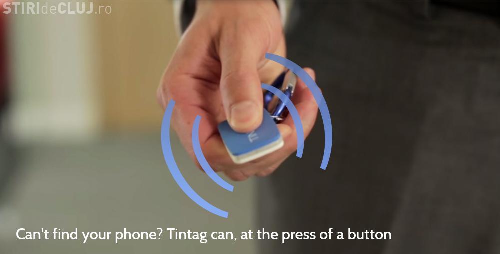 Nu-ți găsești cheile sau telefonul? Tintag poate face ASTA pentru tine. Gadget creat de doi clujeni - VIDEO