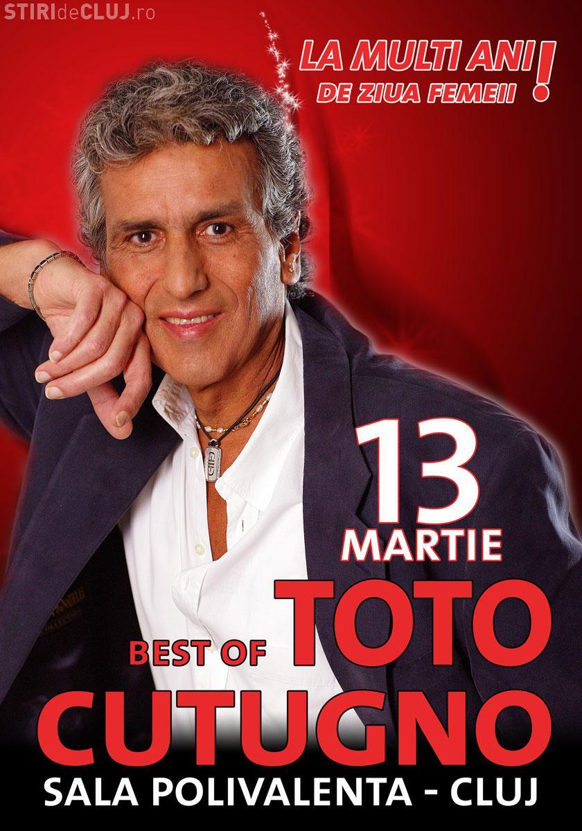 Toto Cutugno le face un cadou româncelor de Ziua Femeii: Autograf la oricare 2 bilete cumparate