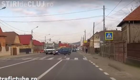 Accident filmat în Florești! Așa MOR oamenii și se distrug mașinile - VIDEO