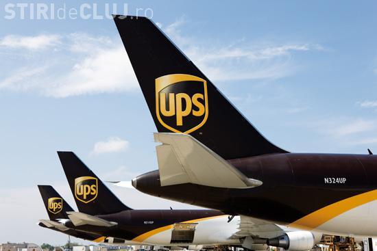 UPS, cea mai mare companie de expediții aeriene, își deschide o bază la Cluj-Napoca