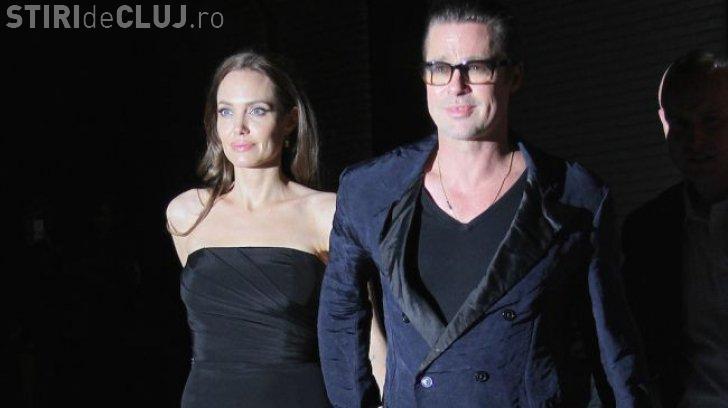 Brad Pitt o înşală Brad Pitt pe Angelie Jolie