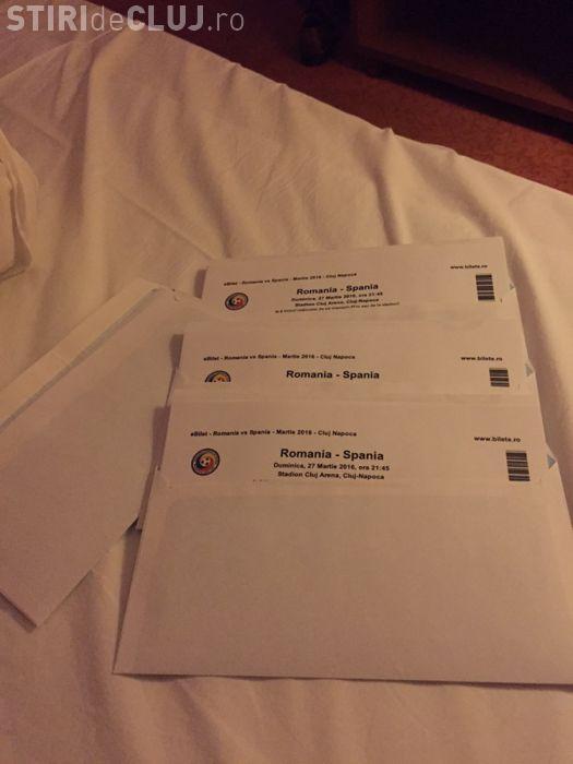 Bișnițarii vând bilete la România - Spania cu 1.400 de lei