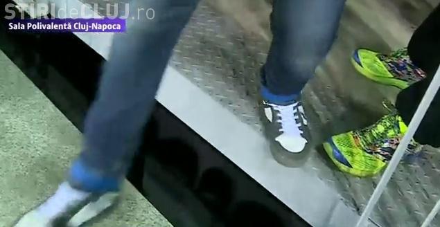 Cine e de VINĂ? Anchetă după ce un copil a căzut în gol, sub tribuna de la Sala Polivalentă Cluj