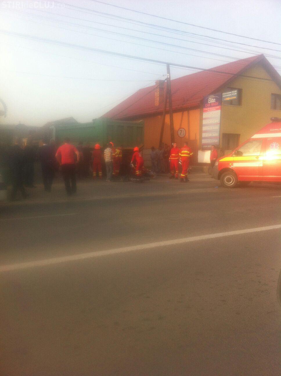 Accident grav in Floresti! Un biciclist a fost accidentat mortal