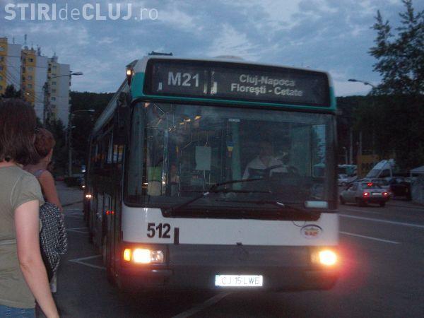 Florești - Traseul autobuzului M21 va fi deviat