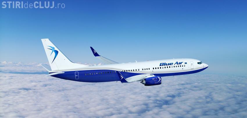Blue Air face un NOU anunț important pentru Cluj