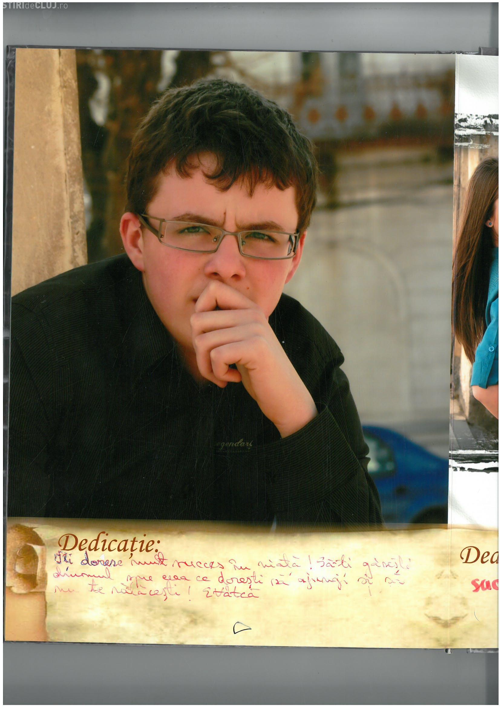 Student dispărut de la Cluj de aproape o săptămână. Familia îl caută cu disperare FOTO