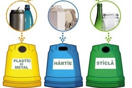 Toți patronii din Florești sunt obligați să colecteze selectiv deșeurile. Ce amenzi riscă