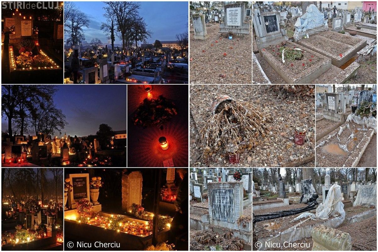 Cum arată Cimitirul Central din Cluj-Napoca primăvara - NO COMMENT