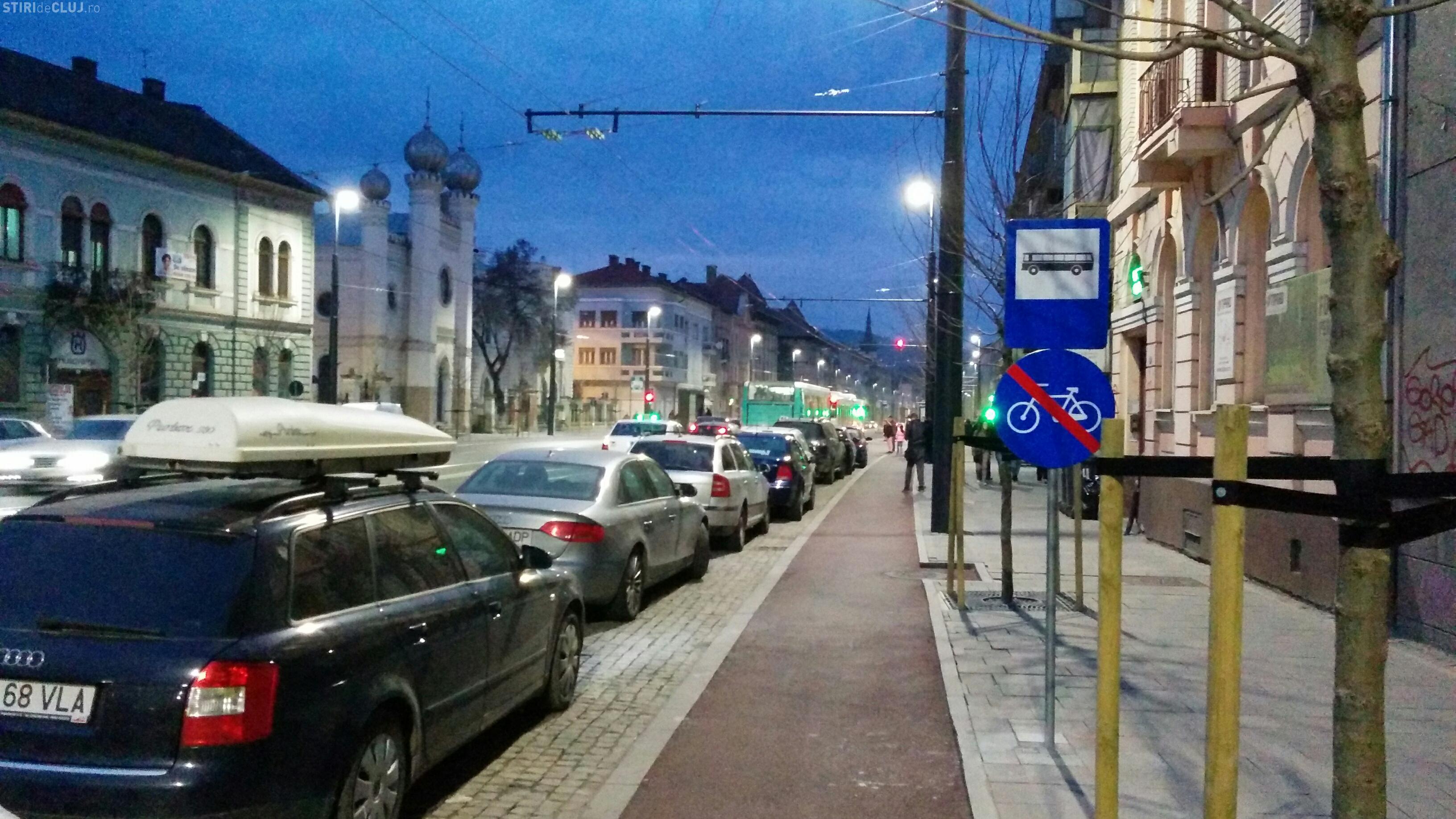 Pe strada Horea e interzis să circuli cu bicicleta? Ce părere aveți? - FOTO