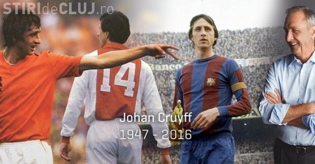 A murit Johan Cruyff, unul dintre cei mai mari fotbalişti ai tuturor timpurilor