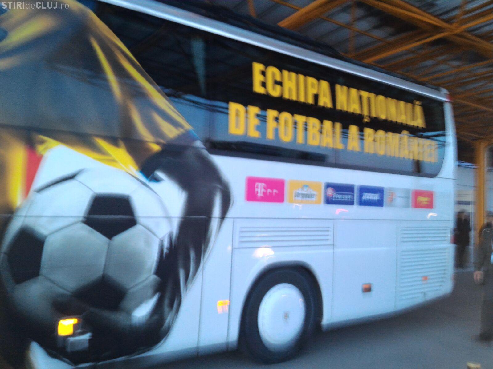 Echipa națională a României a ajuns la Cluj. Aroganță maximă - FOTO