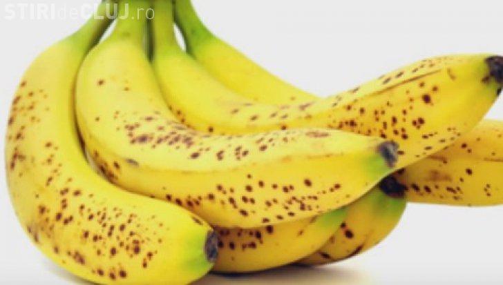 De ce să cumpărați bananele cu pete pe coajă