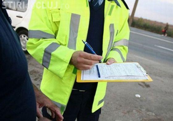 Razie în trafic la Cluj. Polițiștii au vizat vitezomanii și pietonii indisciplinați