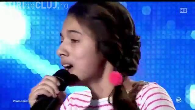 Laura Bretan, surpriza de la Românii au talent - O voce de aur - VIDEO