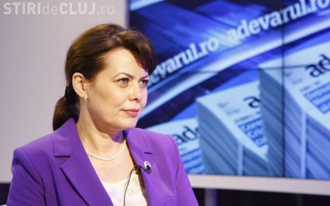 Aurelia Cristea și-a dat demisia din funcția de președinte al PSD Cluj-Napoca