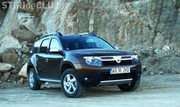 "Dacia Duster, in finala la ""Masina anului"" in Europa"
