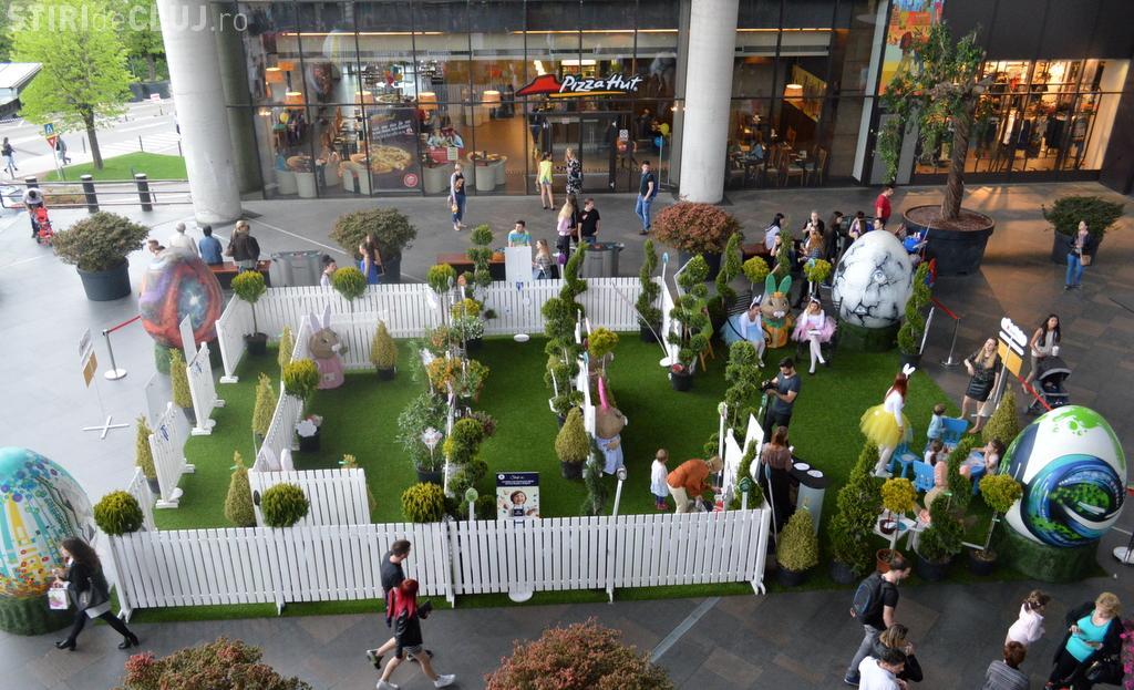 Iulius Mall le pregătește o surpriză copiilor. Se deschide Labirintul Oițelor Vesele