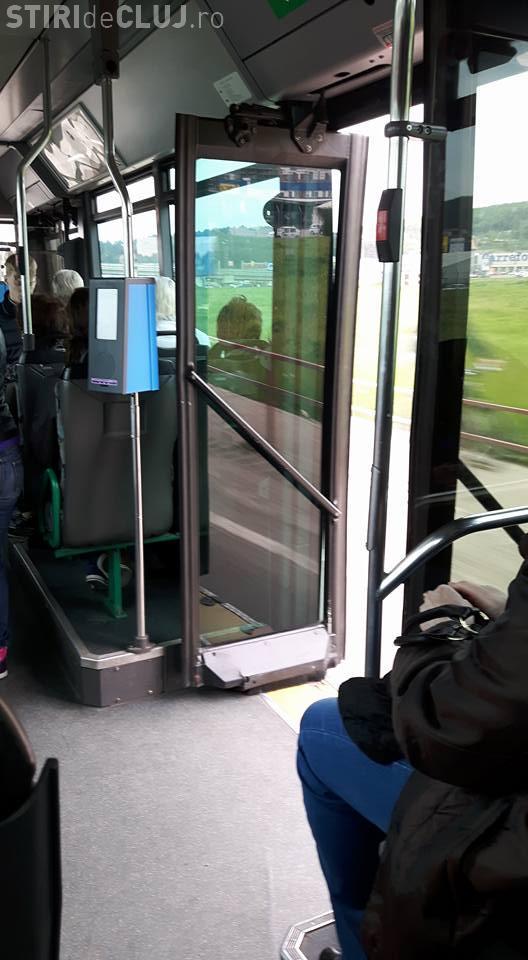 Cum circulă mai nou autobuzele în Florești - FOTO