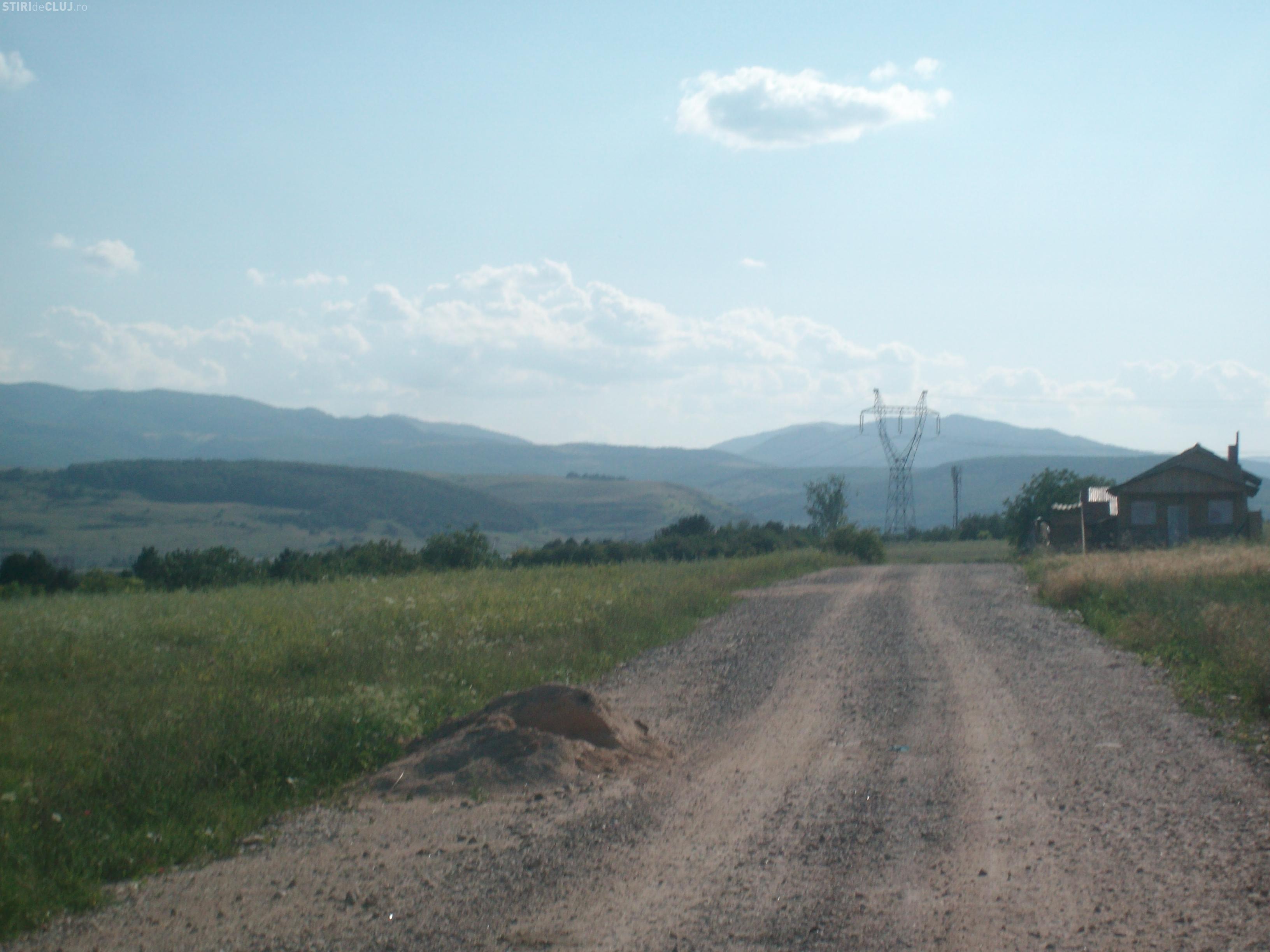 Centura de macadam de la Florești în Grigorescu, asfaltată în acest an
