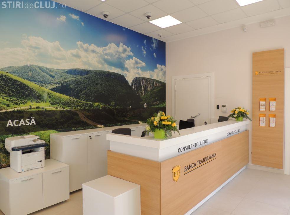 Banca Transilvania a deschis o agenție în Roma