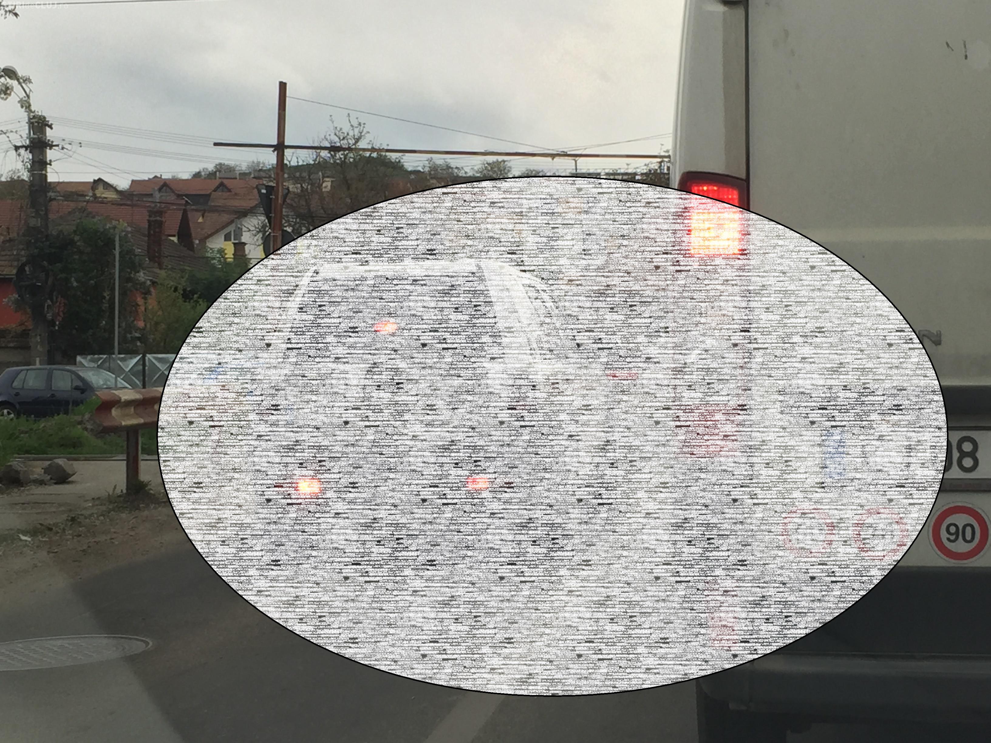 În Cluj-Napoca se conduce tot mai prost! Ce a fotografiat un clujean