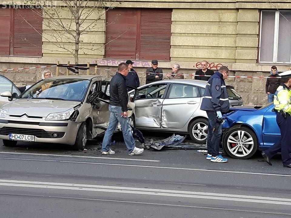 Accident GRAV pe strada Horea. Ce s-a întâmplat - FOTO