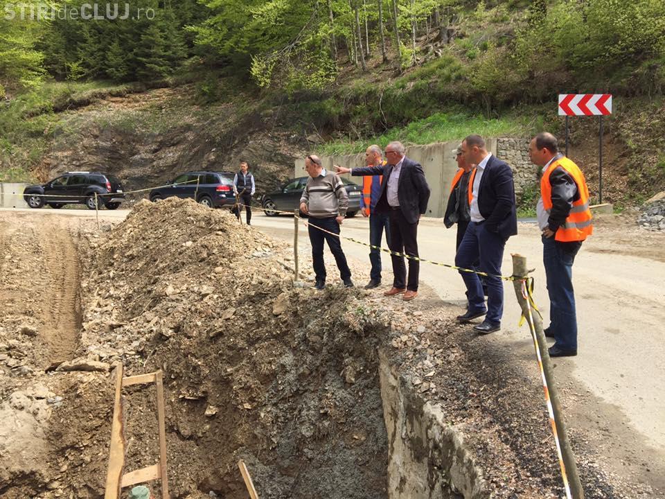Drumul Răchițele - Ic Ponor, inaugurat în 55 de zile. Lucrările au început acum 7 ani