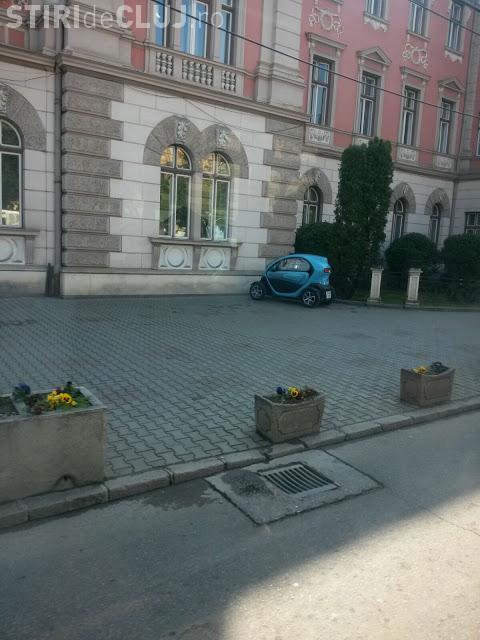 Cum ar fi traficul la Cluj dacă tot mai mulți șoferi și-ar lua mașini electrice? FOTO
