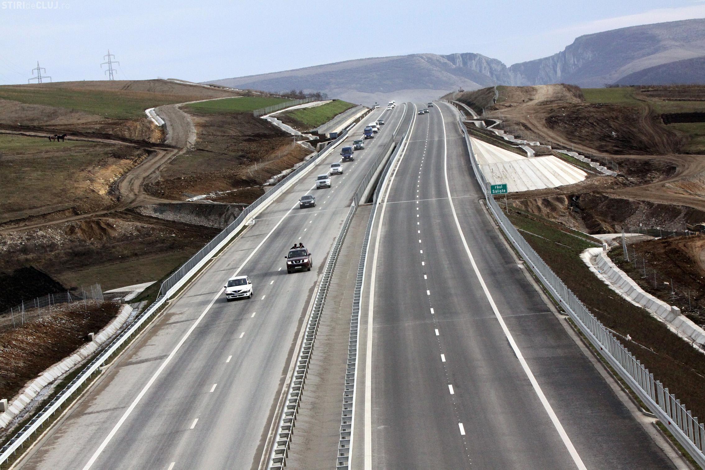 Încep lucrările la un tronson nou din Autostrada Transilvania. Care e vestea PROASTĂ