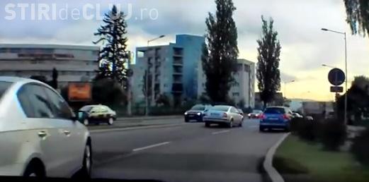 Caz școală de șofer adormit în trafic. Ce a pățit un clujean - VIDEO
