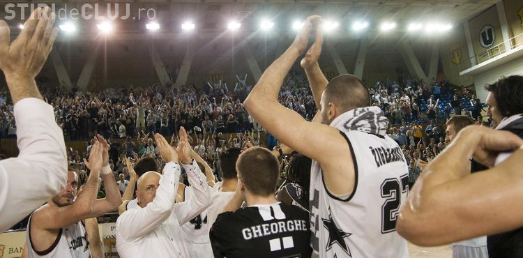 U-Banca Transilvania a câștigat primul meci din play-off-ul cu CSU Atlassib Sibiu