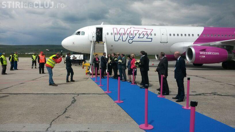 Wizz Air a prezentat un nou avion la Cluj, la împlinirea a 12 ani de activitate FOTO/VIDEO