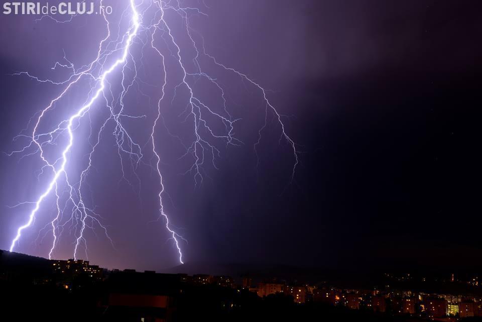COD GALBEN de ploi la Cluj. Meteorologii au emis o avertizare
