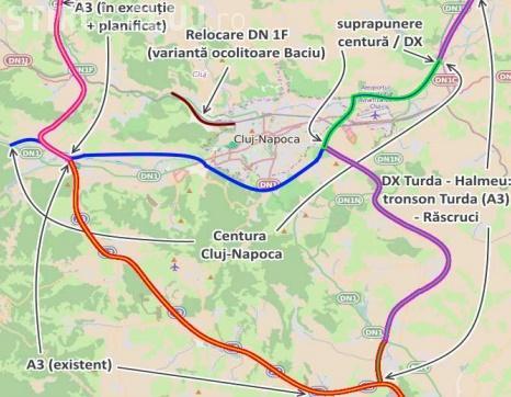 Tișe: Centura metropolitană a Clujului, prioritate națională