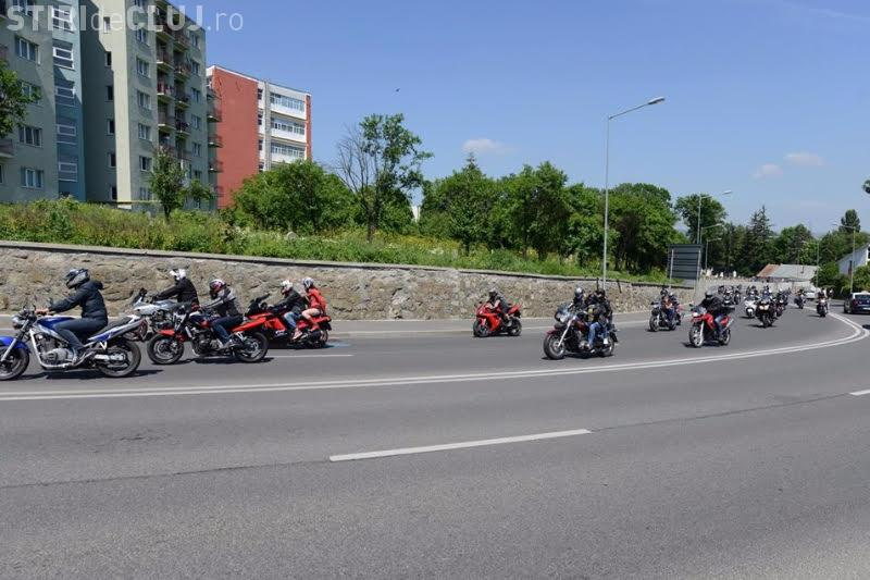 BikeFest, în weekend la Cluj. Motocicliștii fac paradă prin oraș