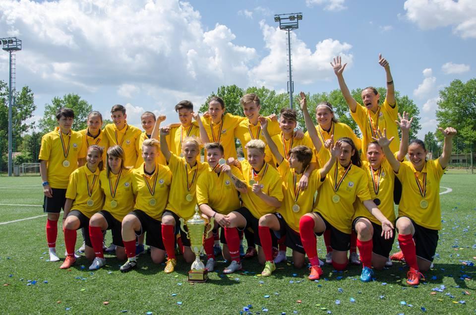Clujencele de la Olimpia, campioane naționale la fotbal pentru a șasea oară consecutiv