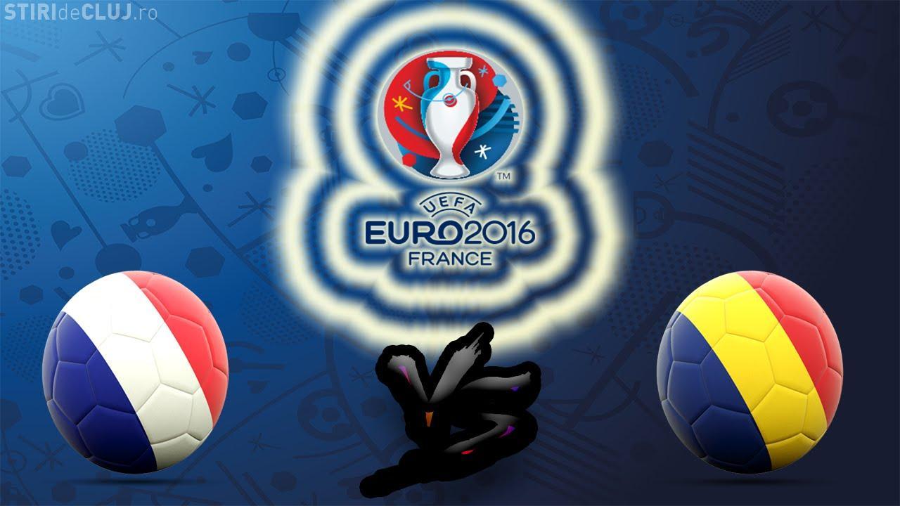 Ghinion în debutul de la EURO 2016! România a pierdut meciul cu Franța în ultimul minut REZUMAT VIDEO