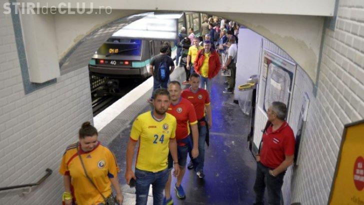 ALERTĂ la Paris înainte de Euro 2016! S-a găsit un pachet suspect la metrou, iar românii au fost blocați