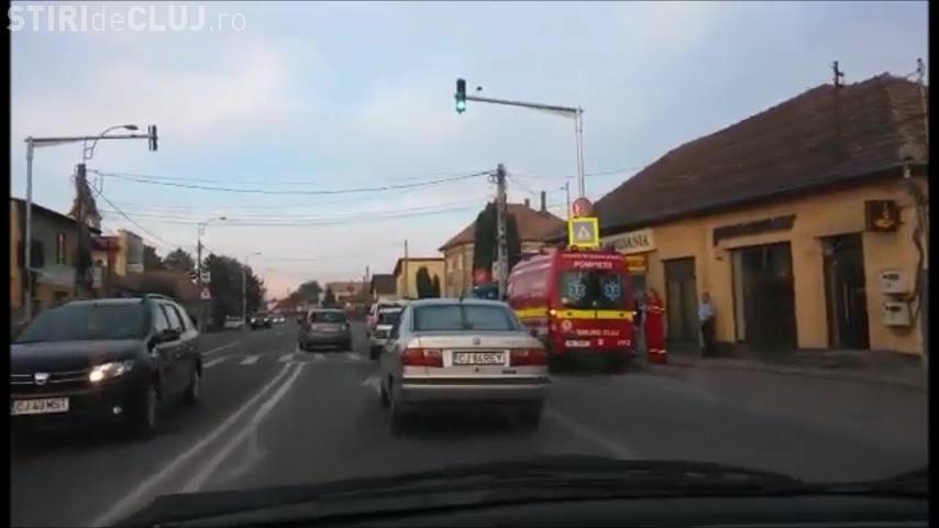 Accident în Florești! Traficul a fost de coșmar, din cauza unui accident SUSPECT - VIDEO