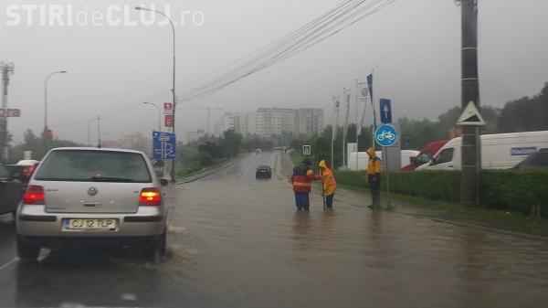 Lac la intrare în Cluj-Napoca dinspre Florești. Situația e neschimbată de ANI DE ZILE - FOTO