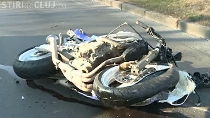 Motociclist rănit grav în Baciu