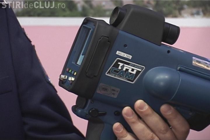 Radar pistol pe Calea Turzii. Unde se ascund polițiștii - FOTO
