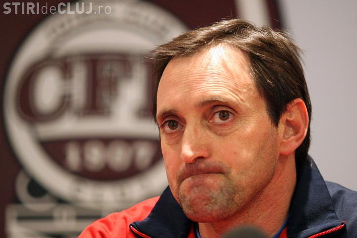 Noi demisii la CFR Cluj! Echipa a rămas și fără antrenor