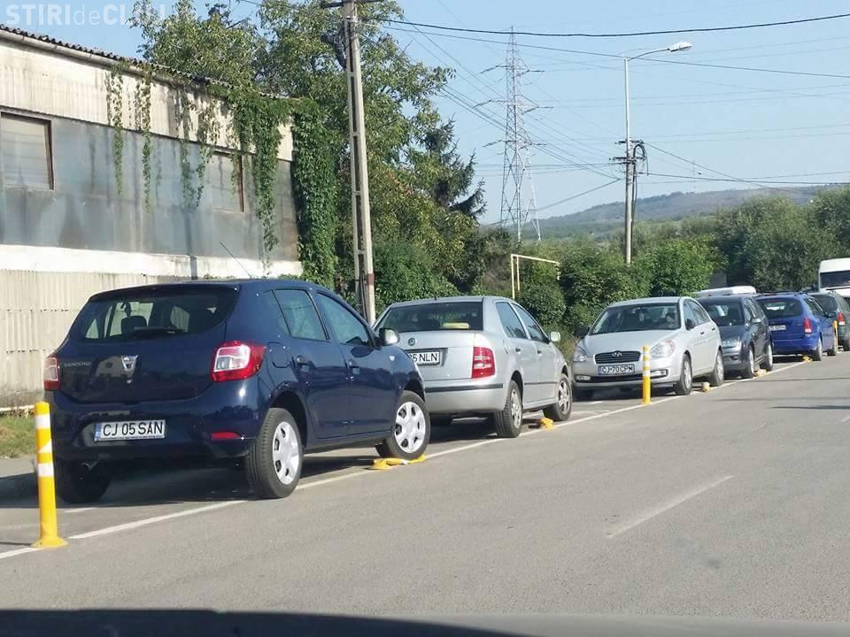 Cluj: Amenzi pentru opriri și staționări neregulamentare