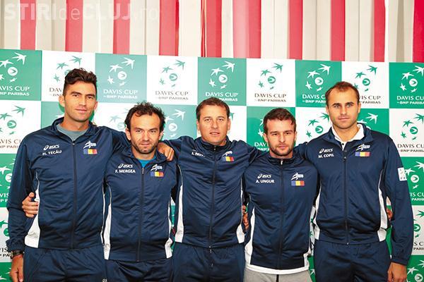 S-a anunțat echipa României la Cupa Davis. Care sunt sportivii care joacă împotriva Spaniei, la Cluj