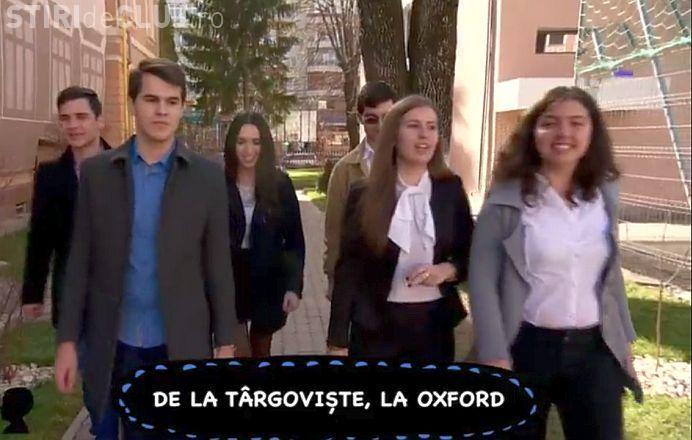 Trei elevi români, din aceeași clasă, admiși la Oxford
