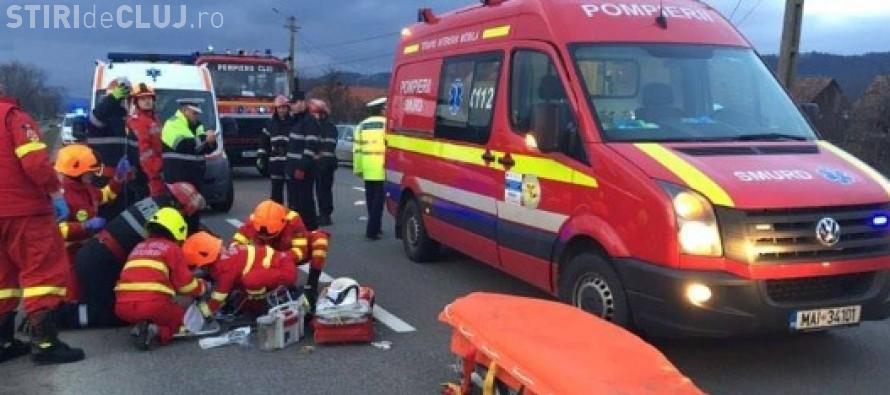 Accident cu 13 răniți între Zalău și Şimleu Silvaniei