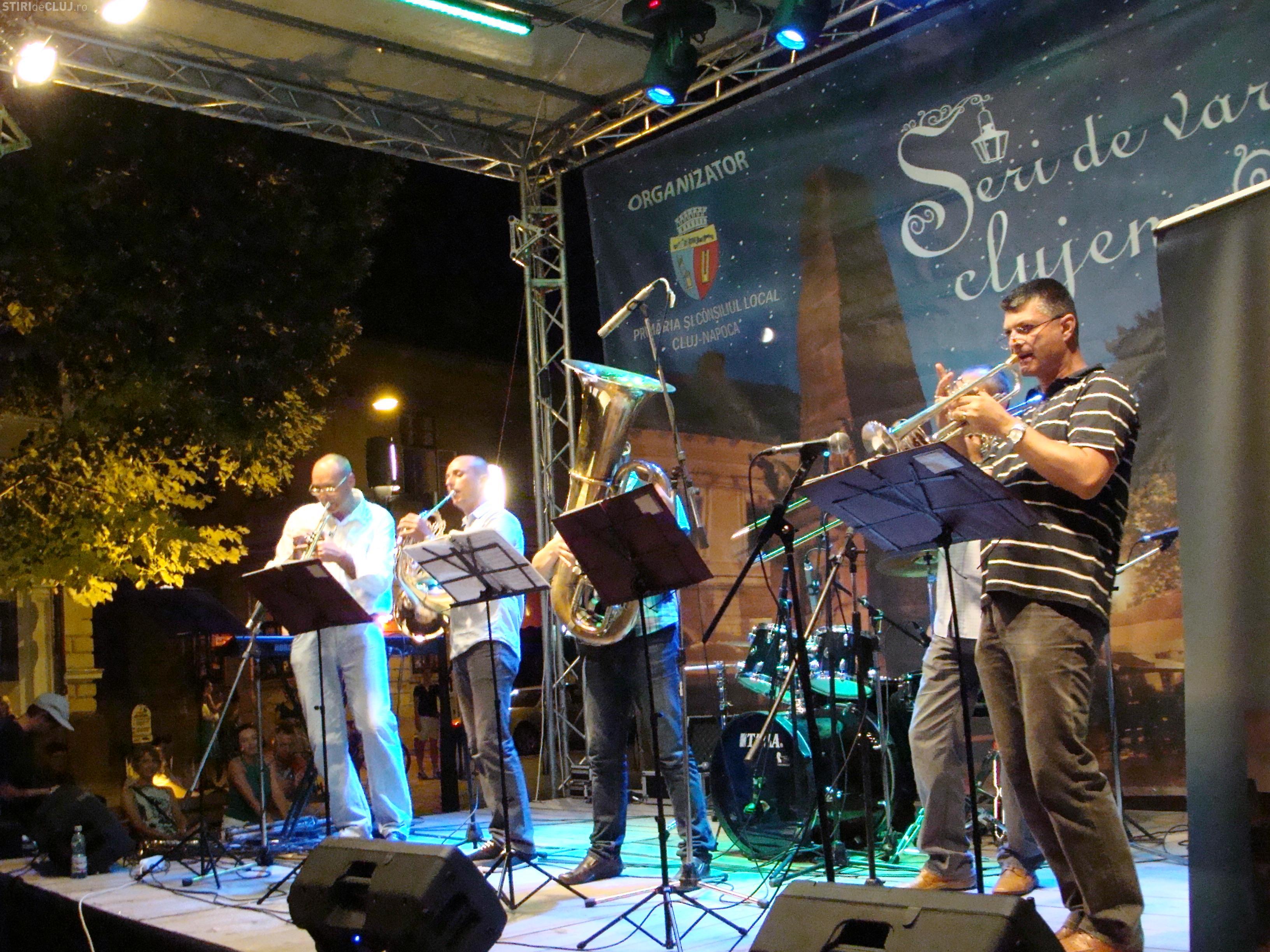 Concertele de fanfară revin în Parcul Central