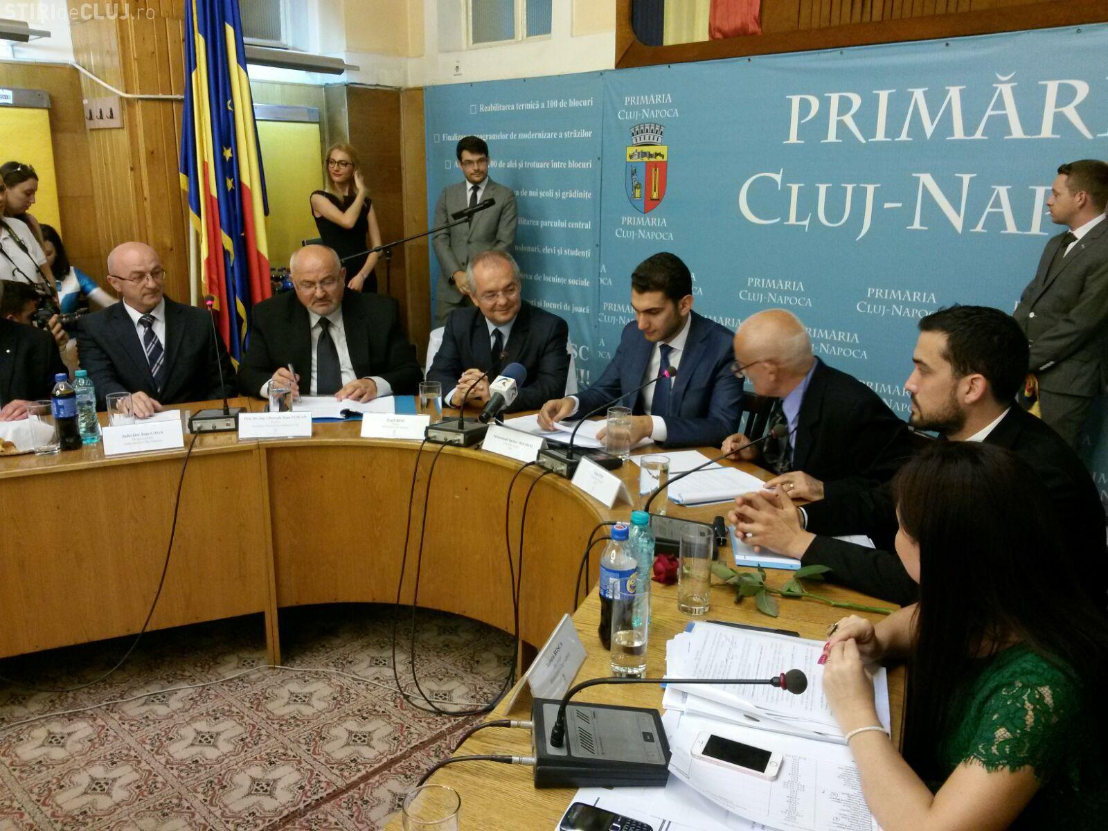 Emil Boc a fost validat în funcția de primar al Clujului. A ținut și un discurs FOTO/VIDEO